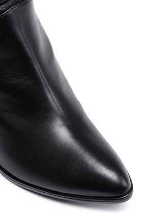STUART WEITZMAN Gathered leather boots