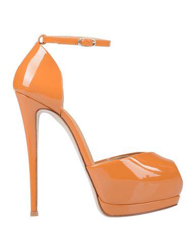 Купить Женские сандали  оранжевого цвета
