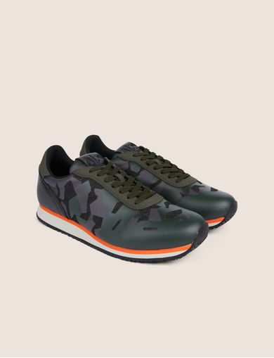 GEO CAMO CONTRAST LOW-TOP SNEAKER