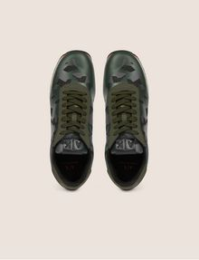 ARMANI EXCHANGE GEO CAMO CONTRAST LOW-TOP SNEAKER Sneakers Man e
