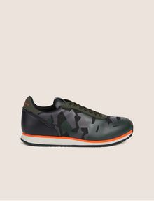 ARMANI EXCHANGE GEO CAMO CONTRAST LOW-TOP SNEAKER Sneakers Man f