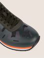 ARMANI EXCHANGE GEO CAMO CONTRAST LOW-TOP SNEAKER Sneakers Man a