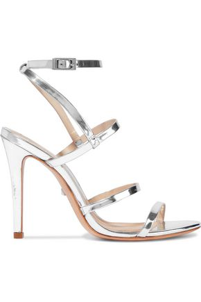 Ilara Metallic Leather Sandals by Schutz