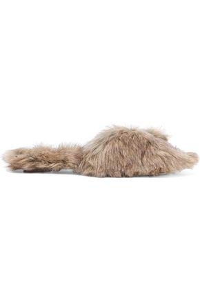 SIMONE ROCHA Faux fur slides
