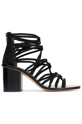 RAG & BONE Knotted suede sandals