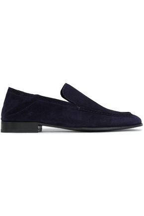 RAG & BONE Ribbed suede loafers