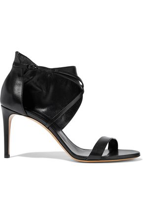 CASADEI Cutout leather sandals