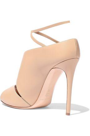 CASADEI Cutout leather sandals