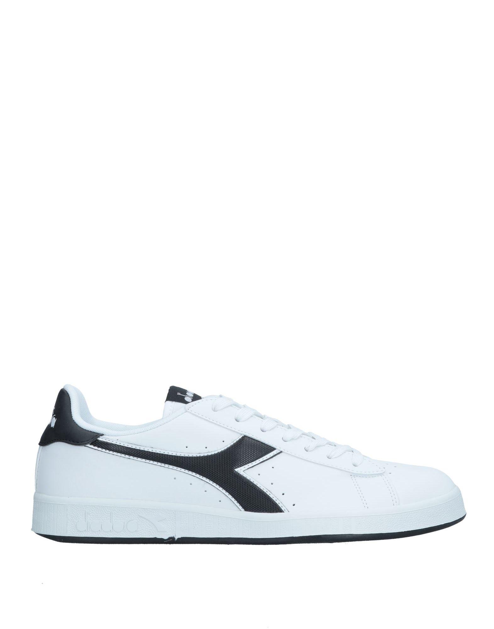 《セール開催中》DIADORA メンズ スニーカー&テニスシューズ(ローカット) ホワイト 6.5 ゴム