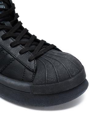 RICK OWENS x ADIDAS Mastodon Pro leather high-top sneakers