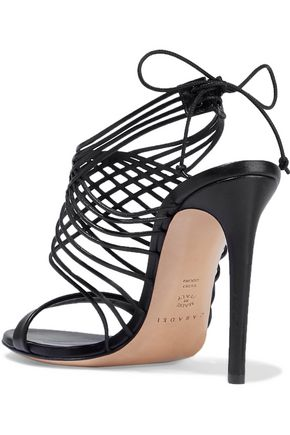 CASADEI Evening strap-detailed leather sandals