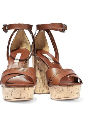 247e99b409c CASADEI Ranger leather platform sandals  CASADEI Ranger leather platform  sandals ...