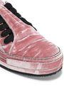 ANN DEMEULEMEESTER Crushed-velvet sneakers