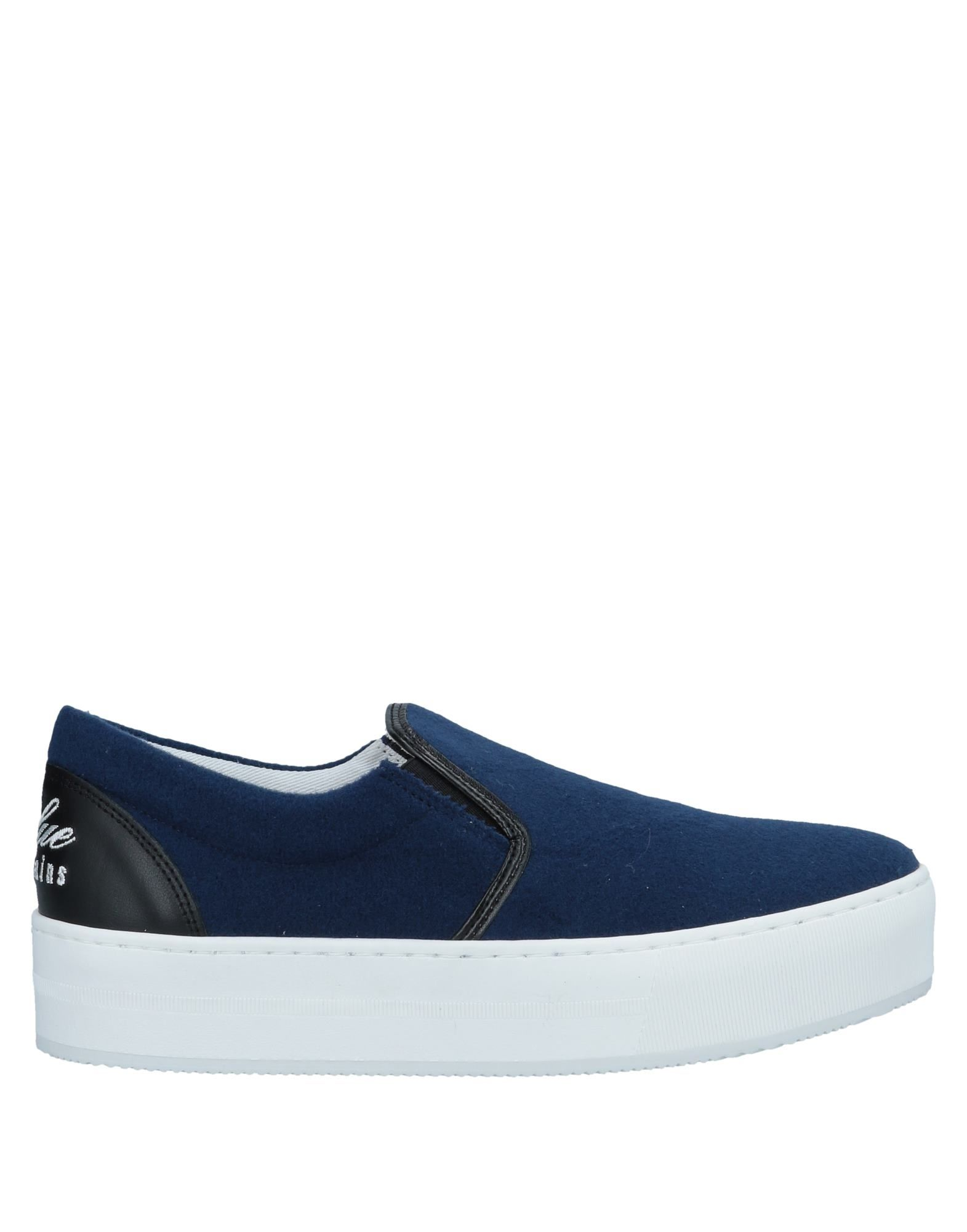 BLUE LES COPAINS Низкие кеды и кроссовки кеды кроссовки низкие детские dc pure elastic se blue black white