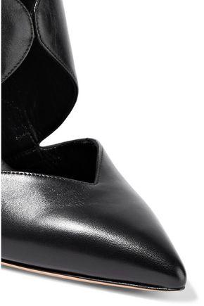 CASADEI Vittoriale cutout leather pumps