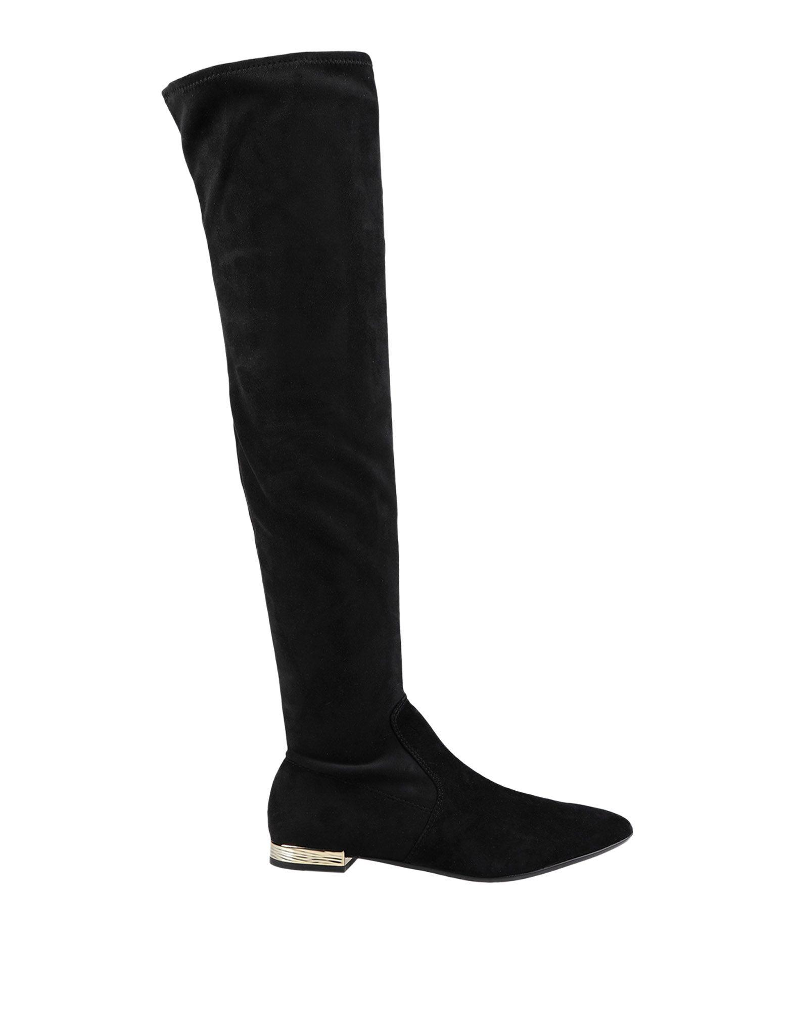 《期間限定セール中》JUICY COUTURE レディース ブーツ ブラック 36 革 / 紡績繊維