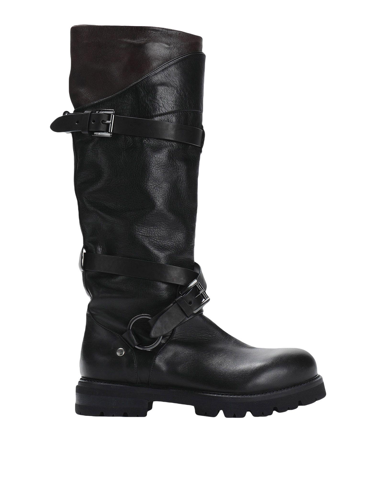 STRATEGIA Сапоги exull женские ботфорты сапоги вышеколена с толстым и низким каблуком