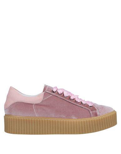 Купить Низкие кеды и кроссовки от LEMARÉ пастельно-розового цвета