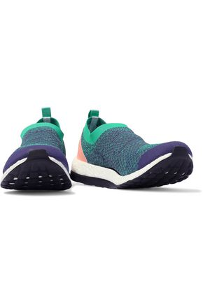 ADIDAS by STELLA McCARTNEY Pure Boost X cutout stretch-knit slip-on sneakers