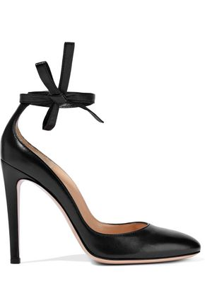 GIANVITO ROSSI Carla leather pumps