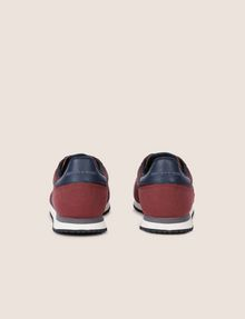 ARMANI EXCHANGE SNEAKERS LOW-TOP IN MIX DI MATERIALI CON LOGO Sneakers [*** pickupInStoreShippingNotGuaranteed_info ***] d