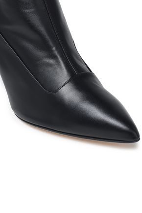 TIBI Alexis leather ankle boots