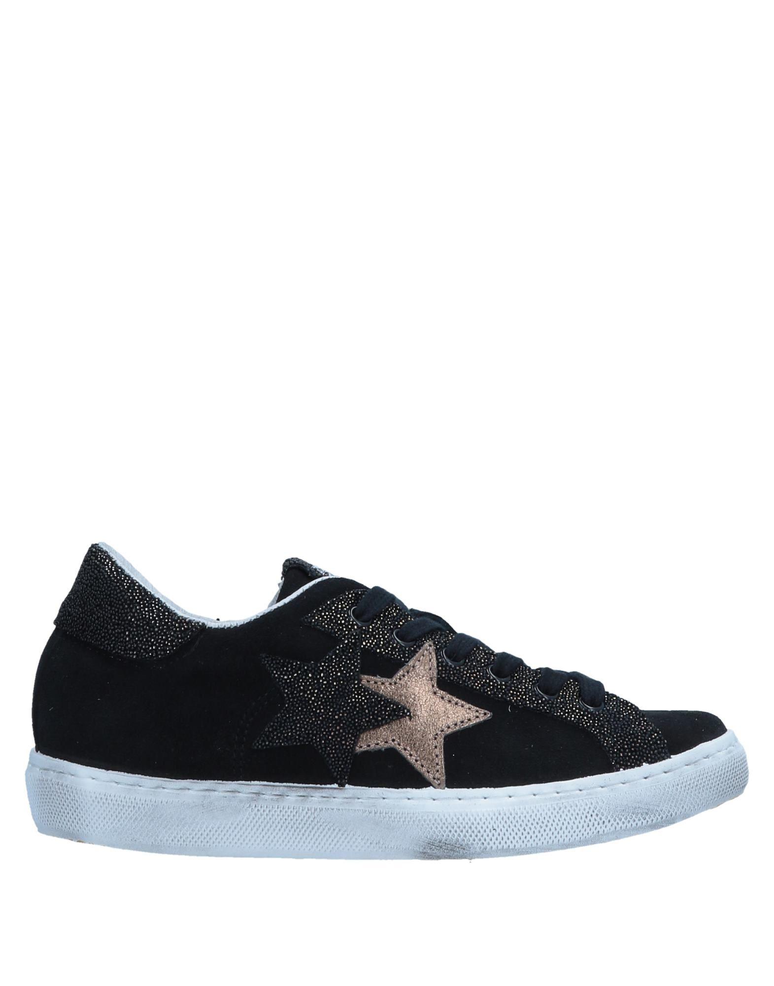 《送料無料》2STAR ガールズ 9-16 歳 スニーカー&テニスシューズ(ローカット) ブラック 35 革 / 紡績繊維