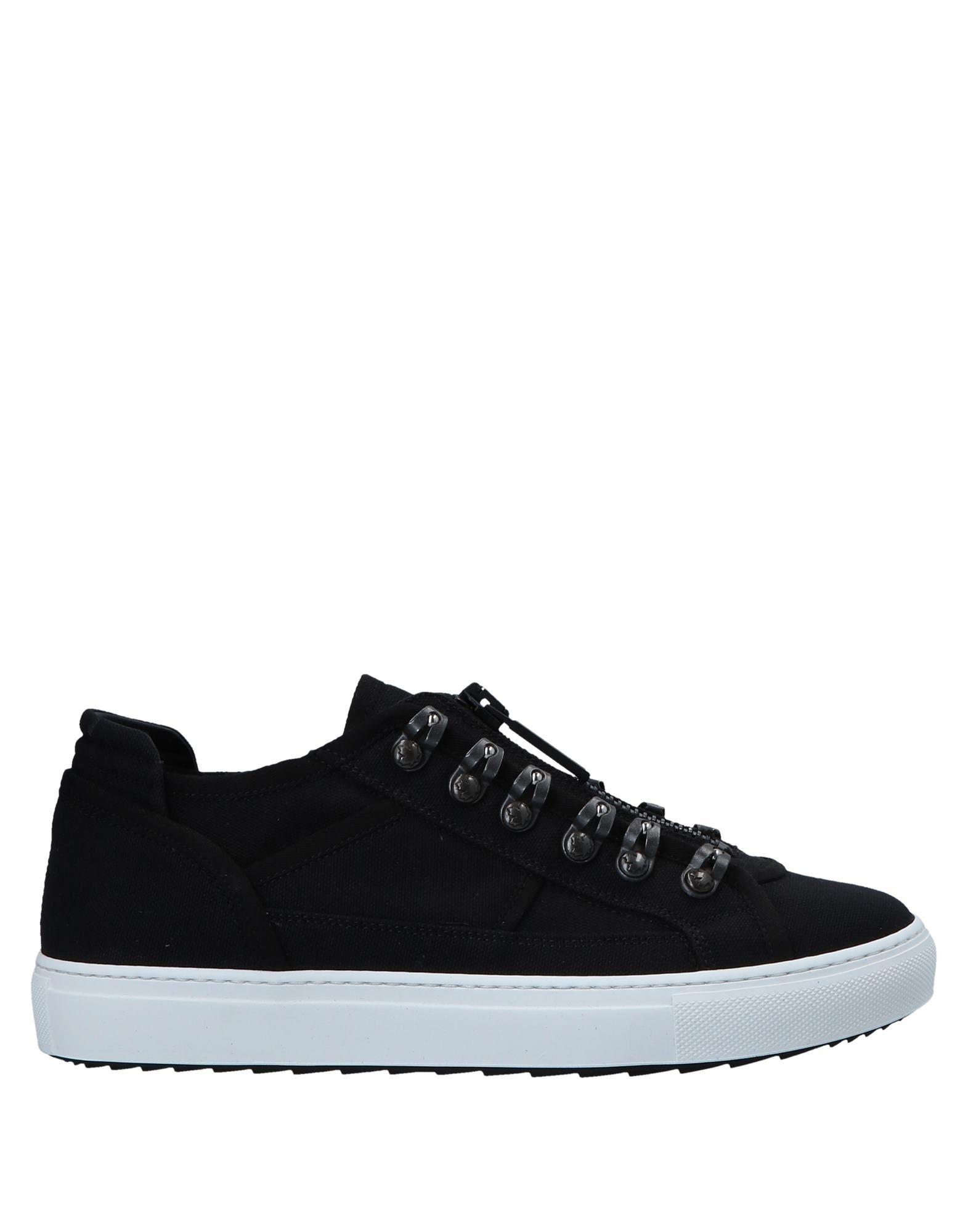 DSQUARED2 Herren Low Sneakers & Tennisschuhe5 schwarz