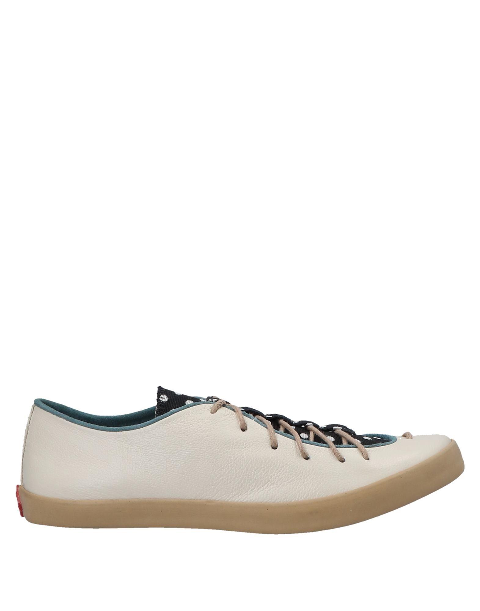 《セール開催中》CIAO MAO レディース スニーカー&テニスシューズ(ローカット) アイボリー 34 革 / 紡績繊維