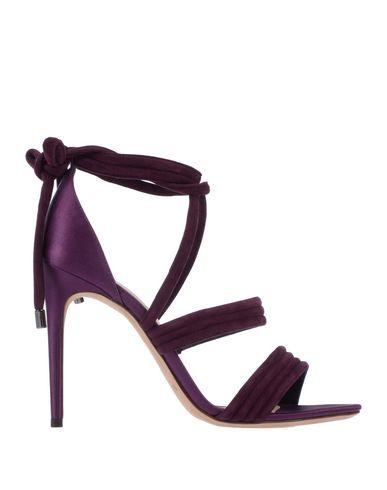 Фото - Женские сандали  цвет баклажанный