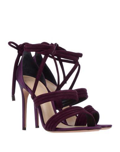 Фото 2 - Женские сандали  цвет баклажанный