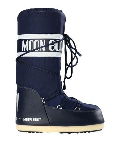 Купить Женские сапоги MOON BOOT синего цвета