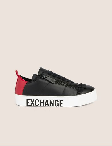 COLORBLOCK SIDE-ZIP LOW-TOP SNEAKER