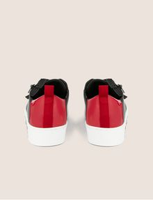 ARMANI EXCHANGE LOW-TOP-SNEAKERS IM COLORBLOCK-DESIGN MIT SEITENREISSVERSCHLUSS Sneakers Damen d