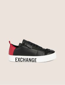 ARMANI EXCHANGE LOW-TOP-SNEAKERS IM COLORBLOCK-DESIGN MIT SEITENREISSVERSCHLUSS Sneakers Damen f