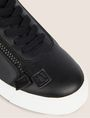 ARMANI EXCHANGE LOW-TOP-SNEAKERS IM COLORBLOCK-DESIGN MIT SEITENREISSVERSCHLUSS Sneakers Damen a