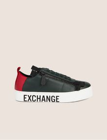 ARMANI EXCHANGE COLORBLOCK SIDE-ZIP LOW-TOP SNEAKER Sneakers [*** pickupInStoreShipping_info ***] f