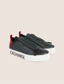 ARMANI EXCHANGE COLORBLOCK SIDE-ZIP LOW-TOP SNEAKER Sneakers [*** pickupInStoreShipping_info ***] r