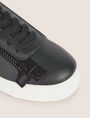 ARMANI EXCHANGE COLORBLOCK SIDE-ZIP LOW-TOP SNEAKER Sneakers [*** pickupInStoreShipping_info ***] a