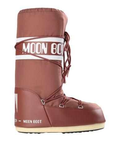 Купить Мужские сапоги MOON BOOT коричневого цвета