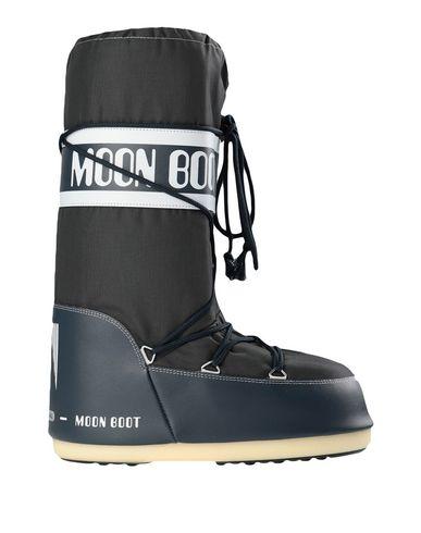 Купить Мужские сапоги MOON BOOT темно-синего цвета
