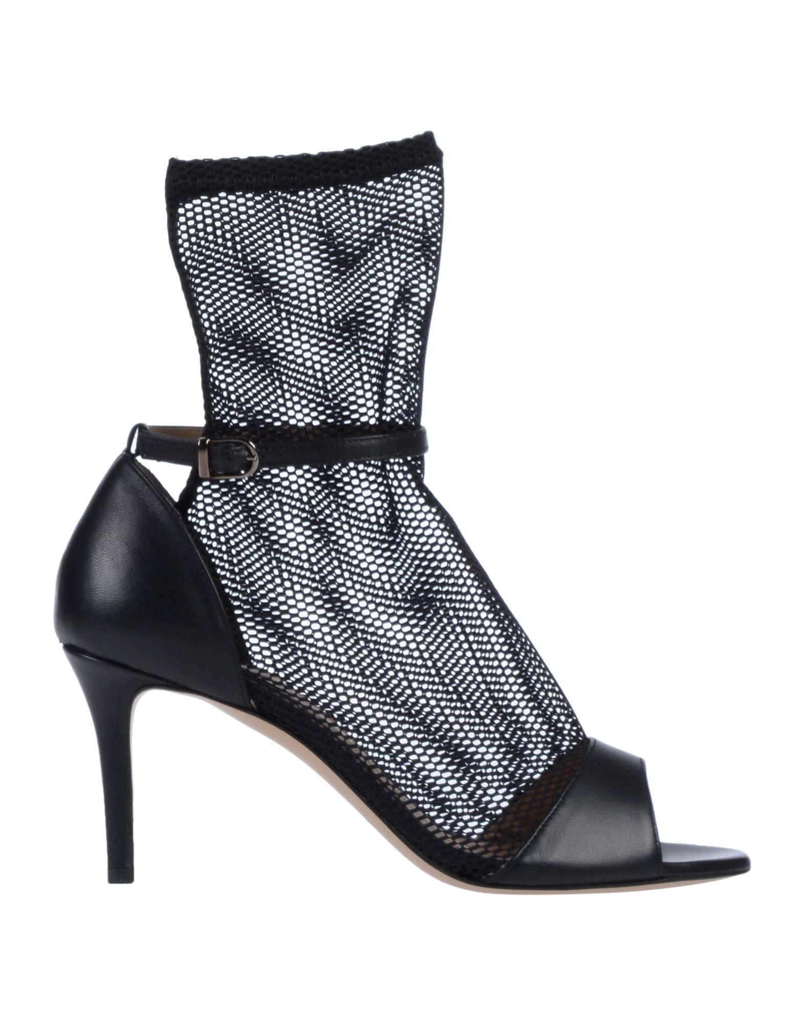 《送料無料》STEPHEN GOOD London レディース ショートブーツ ブラック 36 革 / 紡績繊維