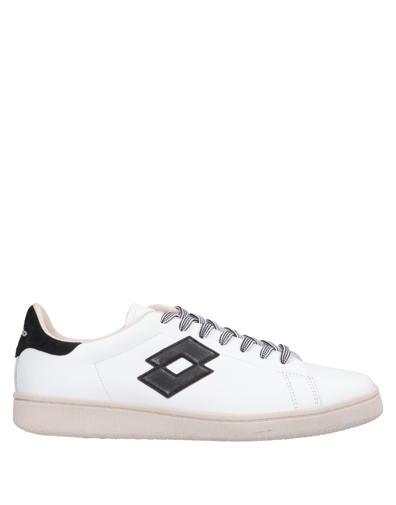 《送料無料》LOTTO LEGGENDA メンズ スニーカー&テニスシューズ(ローカット) ホワイト 40 革 / 紡績繊維