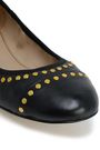 TORY BURCH Studded leather ballet flats