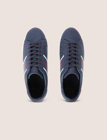 ARMANI EXCHANGE TEXTURED CHEVRON LOW-TOP SNEAKER Sneaker [*** pickupInStoreShippingNotGuaranteed_info ***] e