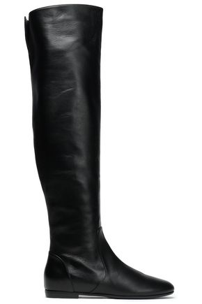 GIUSEPPE ZANOTTI Leather over-the-knee boots