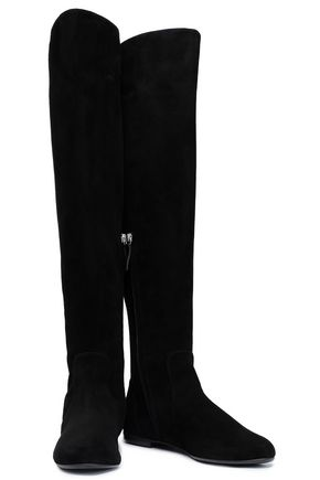9c05a27af6 GIUSEPPE ZANOTTI Suede over-the-knee boots