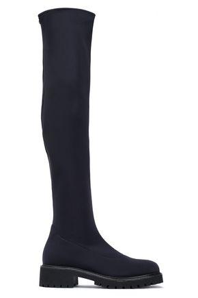 GIUSEPPE ZANOTTI Neoprene thigh boots