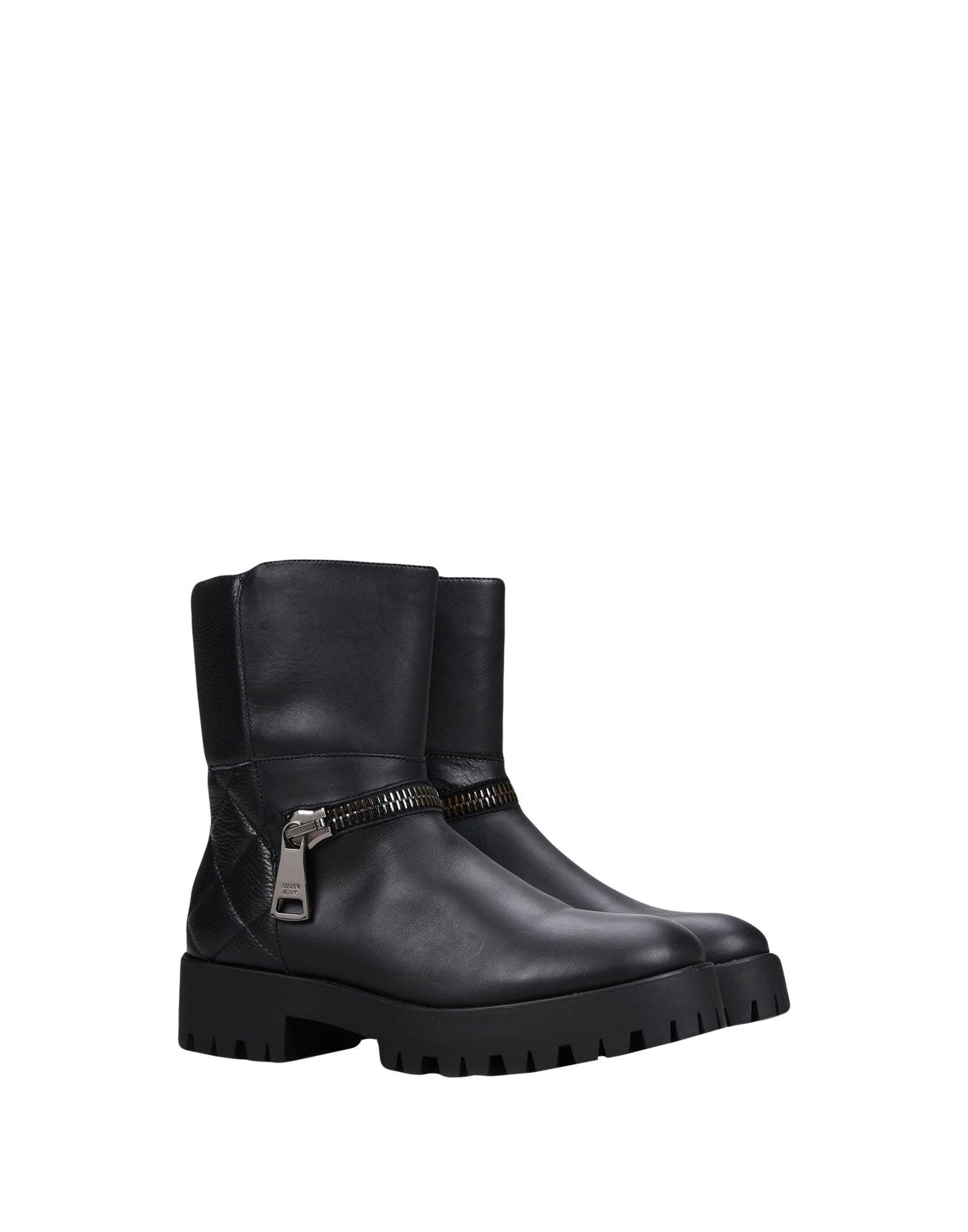 купить ARMANI JEANS Полусапоги и высокие ботинки по цене 16500 рублей