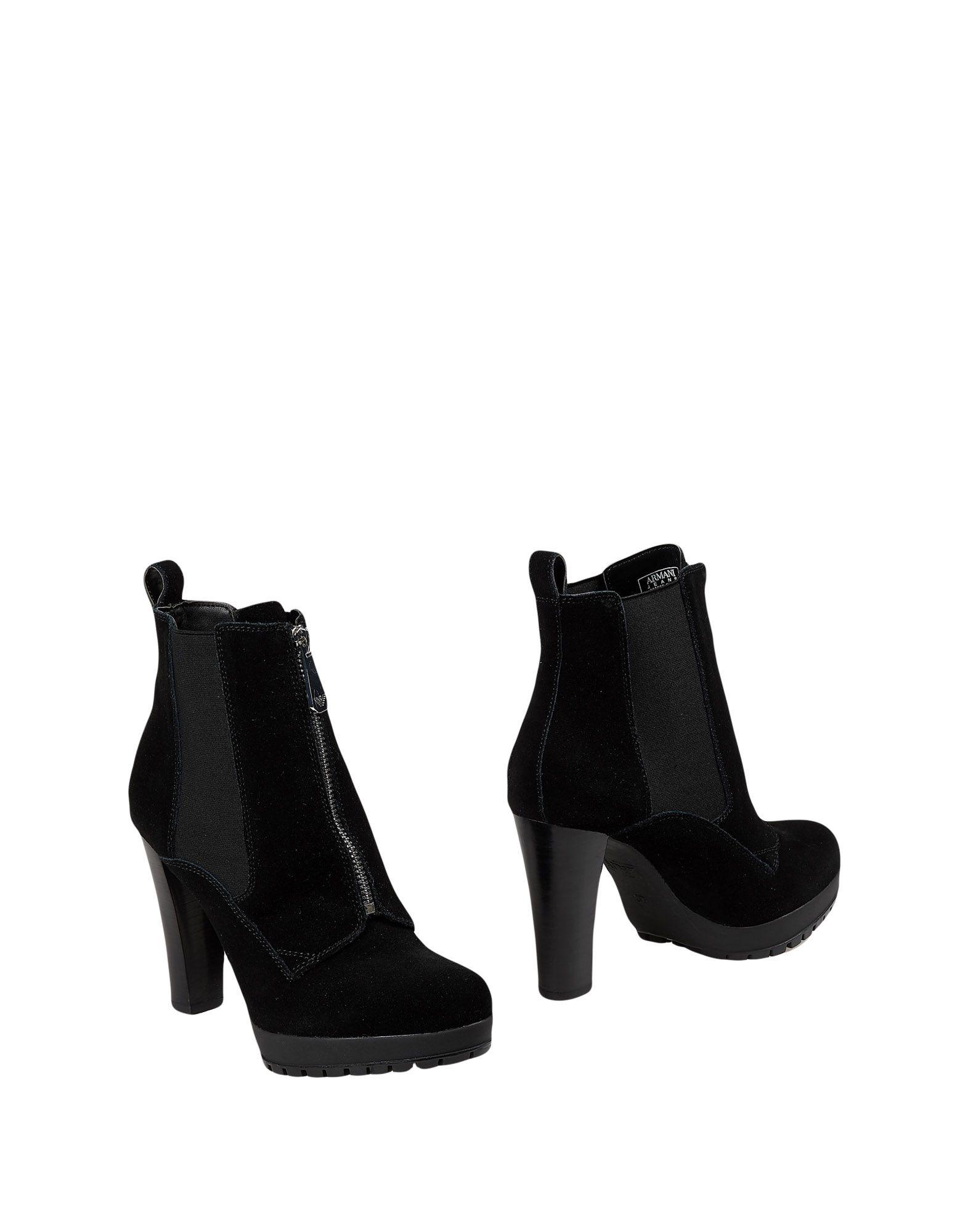 купить ARMANI JEANS Полусапоги и высокие ботинки по цене 13000 рублей